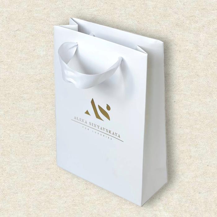Пакеты из мелованной бумаги