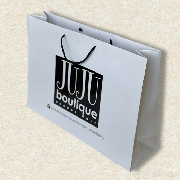 Заказать пакеты из мелованного картона