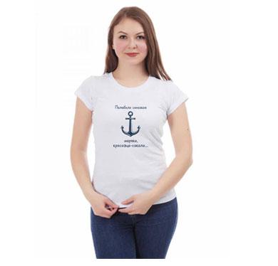 футболка с принтом на заказ